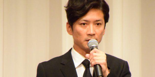 記者会見で話す国分太一さん(5月2日)