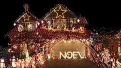 クリスマスイルミネーションは、宇宙から見えるほど明るい(画像)