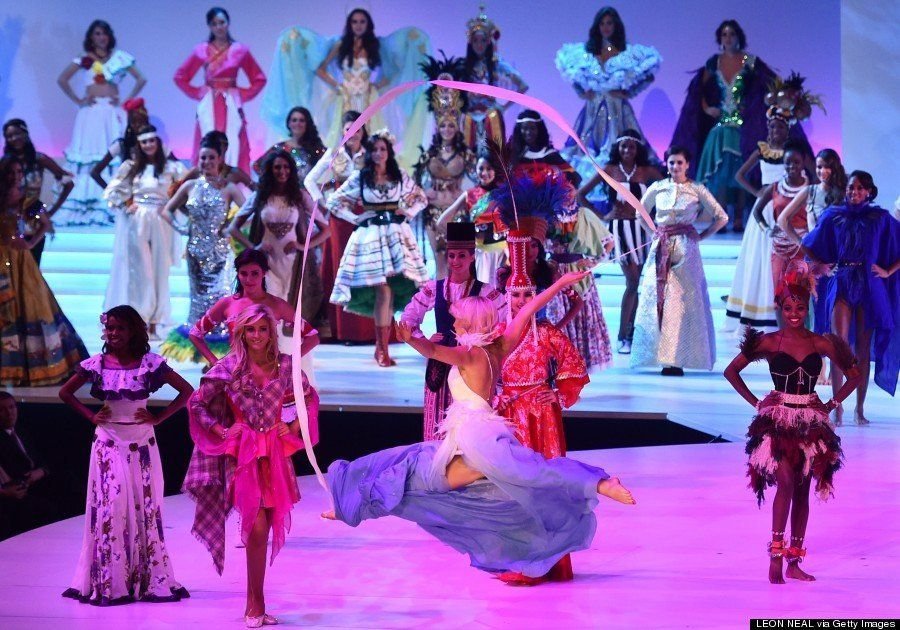 ミス・ワールド2014、美しさと知性を極めた女性たちの競演(画像)