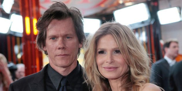 Actors Kevin Bacon, left, and Kyra Sedgwick arrive at the 15th Annual Screen Actors Guild Awards on Sunday,...