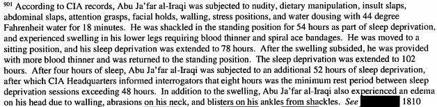 肛門への栄養注入、家族への性的暴行を脅迫......CIAの拷問の実態とは