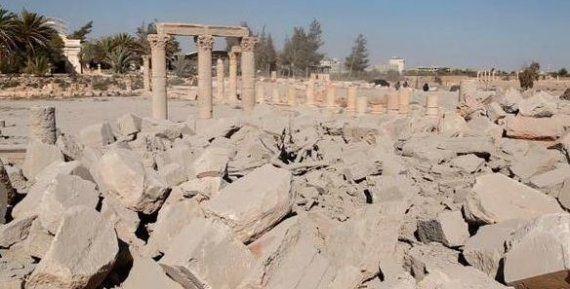 「パルミラ神殿の破壊だけが、シリア人の壊滅を世界に気付かせるきっかけになっている」