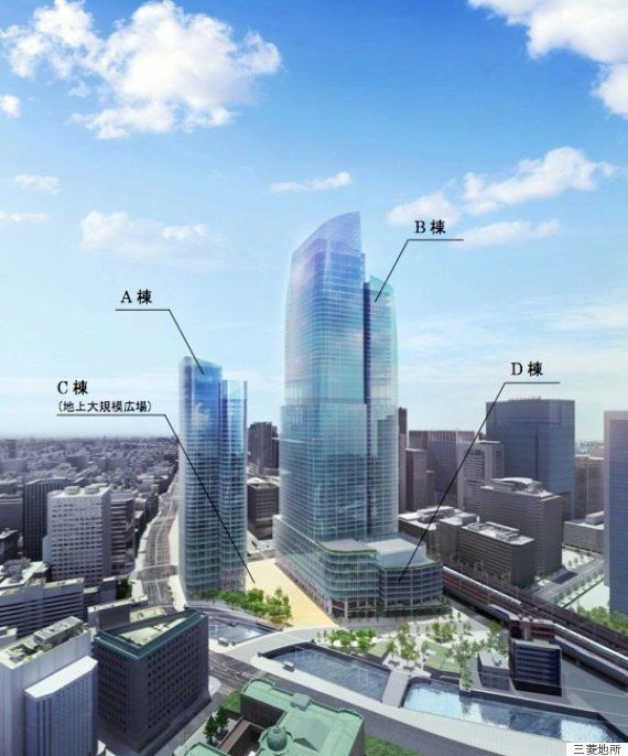 日本一の超高層ビル建設へ 東京駅前に高さ390m