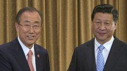 潘基文・国連事務総長、中国の抗日式典に出席へ 日本の反応は?