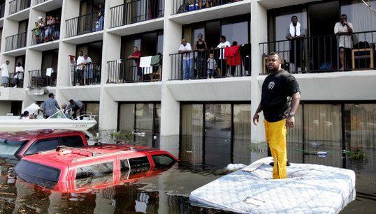ハリケーン・カトリーナから10年 アメリカにもたらした恐怖と破壊の爪痕(画像)