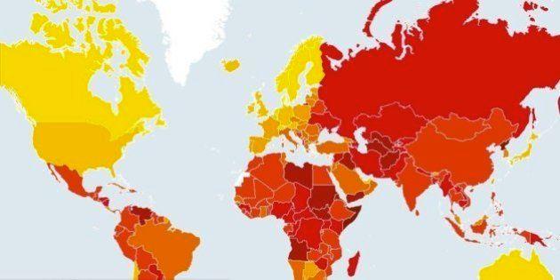 世界の腐敗度ランキング、最悪の国はアフリカとアジアのあの国 日本は?