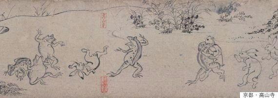 「鳥獣戯画」の絵順が違っていたと判明 本当はどういう順番だった?(画像)