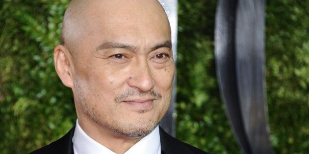 NEW YORK, NY - JUNE 07: Ken Watanabe attends the American Theatre Wing's 69th Annual Tony Awards at Radio...