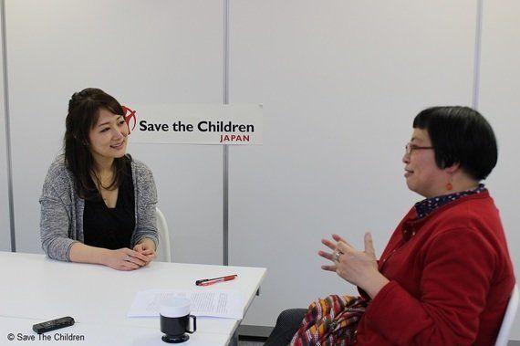 「自分たちだけでいいじゃんという考え方が、すごく危ないと思うんです」REINA、混迷する世界情勢の中で―セーブ・ザ・チルドレン・ジャパン事務局次長髙井明子との対談