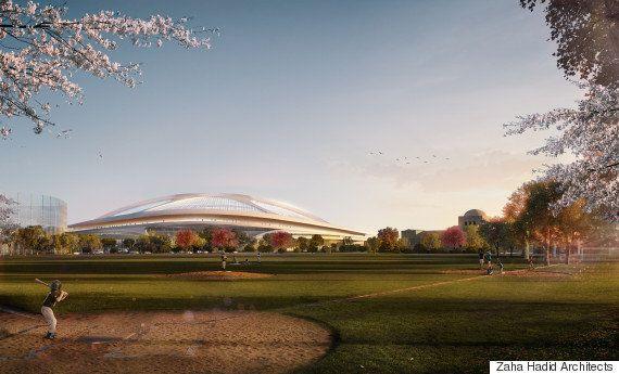 【新国立競技場】ザハ・ハディド氏「私たちのデザインが、価値あるスタジアムを作る唯一の案」