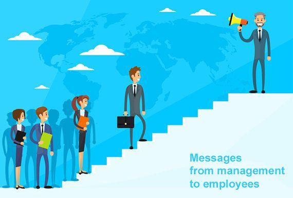 研修は、経営から社員へのメッセージ