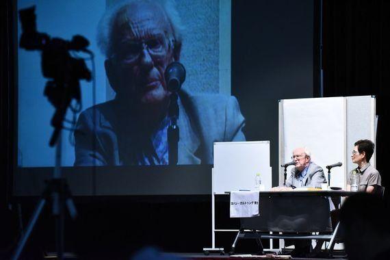 ガルトゥング博士の来日目的は真の「積極的平和」を基とした3つの提言をすることだった