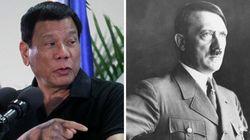 ドゥテルテ大統領、ヒトラー発言は謝罪したが「麻薬中毒者は殺す」