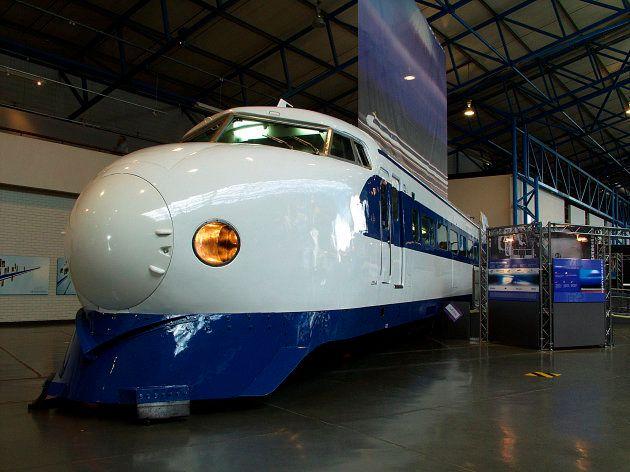 イギリス国立鉄道博物館の0系新幹線(2003年撮影)