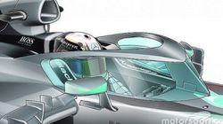 F1マシンに「窓」をつけることを検討。ドライバーの安全性向上のため