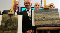 ゴッホの絵画2点、14年ぶりに見つかる イタリアのマフィア捜査中に