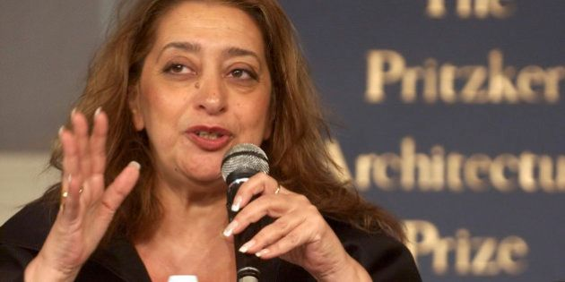 Iraqi-born architect Zaha Hadid, who became the first woman to receive the Pritzker Prize for architecture,...