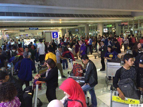 こちらも最悪、マニラ国際空港
