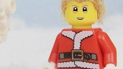 トランプ氏、レゴになる。サンタにもなっちゃった(動画)