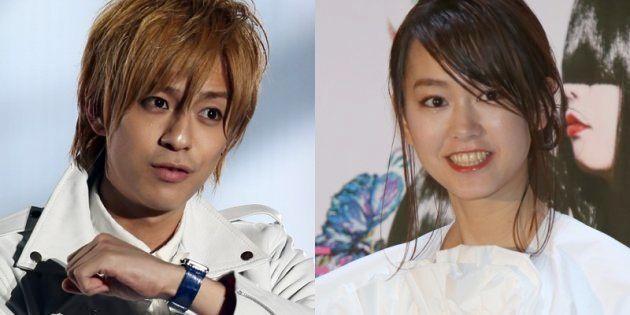 三浦翔平さん(左)と桐谷美玲さん(右)