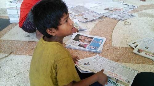 写真から考える、ストリートチルドレン・児童労働。