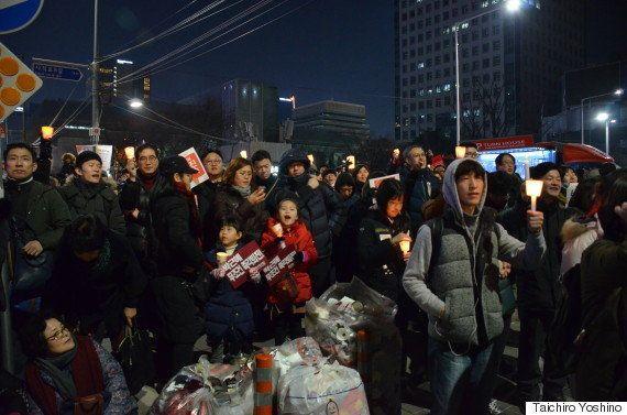 170万人が叫んだ「朴槿恵退陣」 デモ参加者から見えた