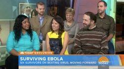 エボラ出血熱生還者6人が集合「もう一度同じ状況になったら...やはり患者を助けたい」