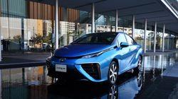 「燃料電池車」が