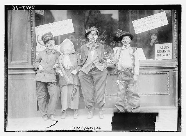 感謝祭、100年前も今もやっぱり七面鳥だね(画像)