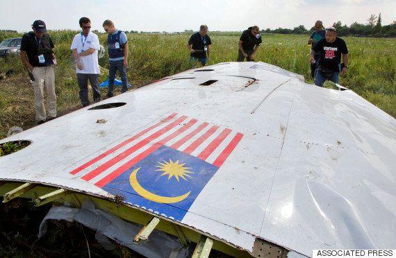 マレーシア機撃墜の場所を特定