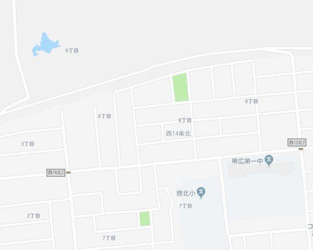 北海道の中に北海道があった。Google