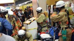 高田馬場駅で異臭、1人重症「液体かけられた」