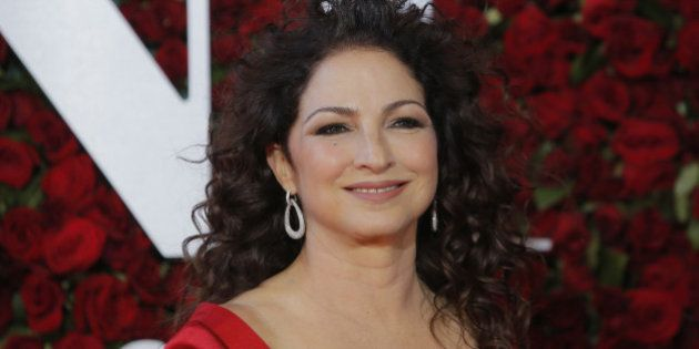 Singer Gloria Estefan arrives for the American Theatre Wing's 70th annual Tony Awards in New York, U.S.,...