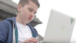 「ネットいじめ」で顔がボコボコに。13歳の少年が作った啓発動画が大反響
