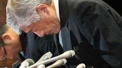 日大の内田正人前監督、常務理事職の謹慎を表明