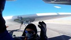 エアレースのパイロット、滑走路であわや交錯、文字通り「首が飛ぶ」寸前に(動画)