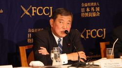 石破茂氏、安倍首相の改憲方針に異論
