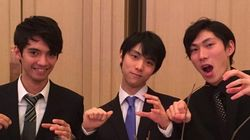 羽生結弦がキレキレ「恋ダンス」