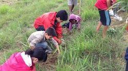 震災も乗り越えて25年 ある学校が続けるネパールでの植林活動と現地交流