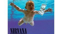 ニルヴァーナのデビューアルバムから25年、ジャケットの赤ちゃんは25歳になった(画像)