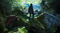 「映画のポスターみたいな写真が撮れた」渓谷にたたずむ男性の写真は、こうして撮影された