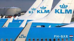 墜落事故寸前? KLMオランダ航空の危険な着陸シーン、実は......(動画)