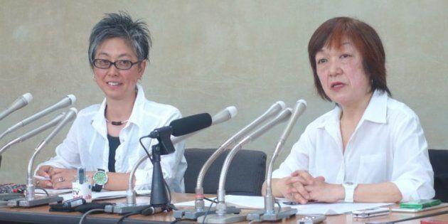 5月15日に開いた「メディアで働く女性ネットワーク」設立の記者会見=東京都内で