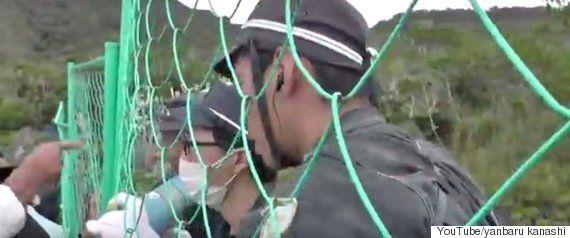 沖縄・翁長雄志知事、米軍ヘリパッド建設を事実上容認「苦渋の選択」