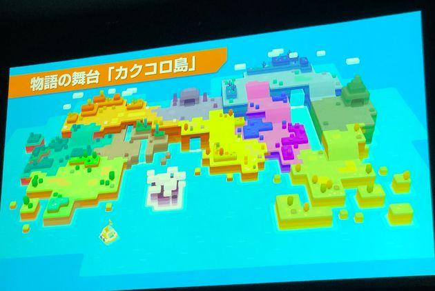 「ポケモンクエスト」任天堂が発表。Switchとスマホに対応したRPG