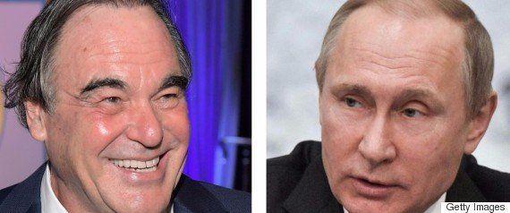 プーチン氏に「潜水艦でゲイとシャワーを浴びることになったら?」 オリバー・ストーン監督、
