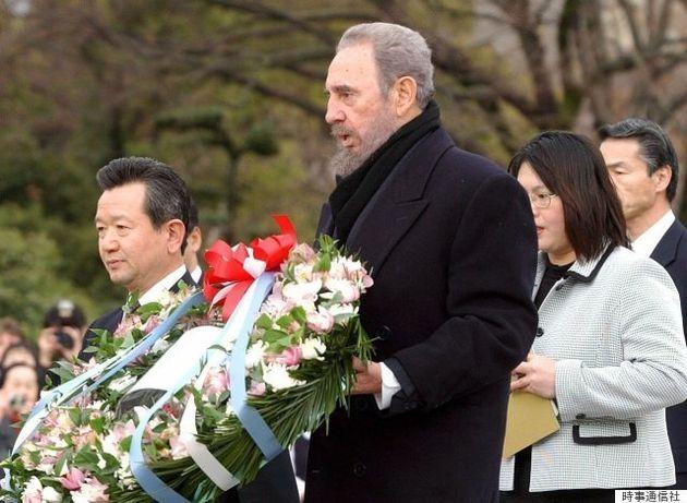フィデル・カストロ氏「人類は広島の教訓を学び取っていない」来日時に訴えた平和への思いとは