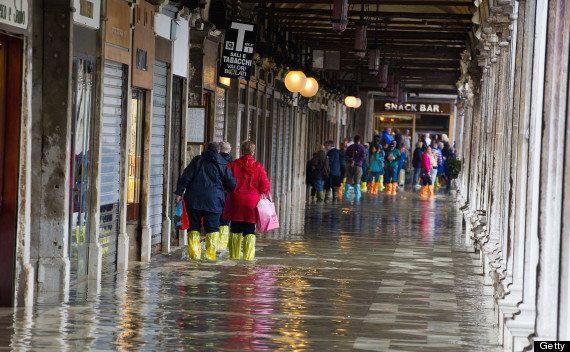 水没するヴェネツィアの街並みをインスタグラムで散策する【画像集】