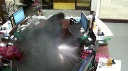 【閲覧注意】電子たばこがポケット内で爆発、バッテリーが発火か(動画)
