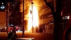 『鳥久』解体中の老舗料理店が全焼 保存めぐり河村たかし市長と対立【動画】